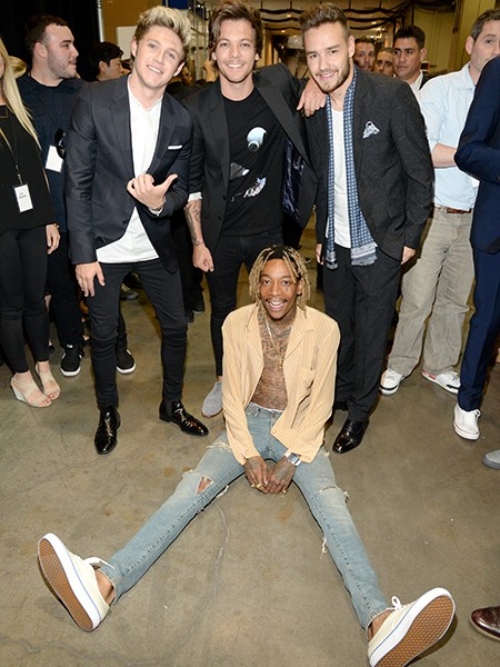 One Direction and Wiz Khalifa