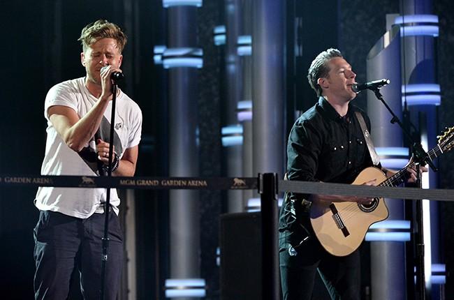Ryan Tedder and Zach Filkins of OneRepublic