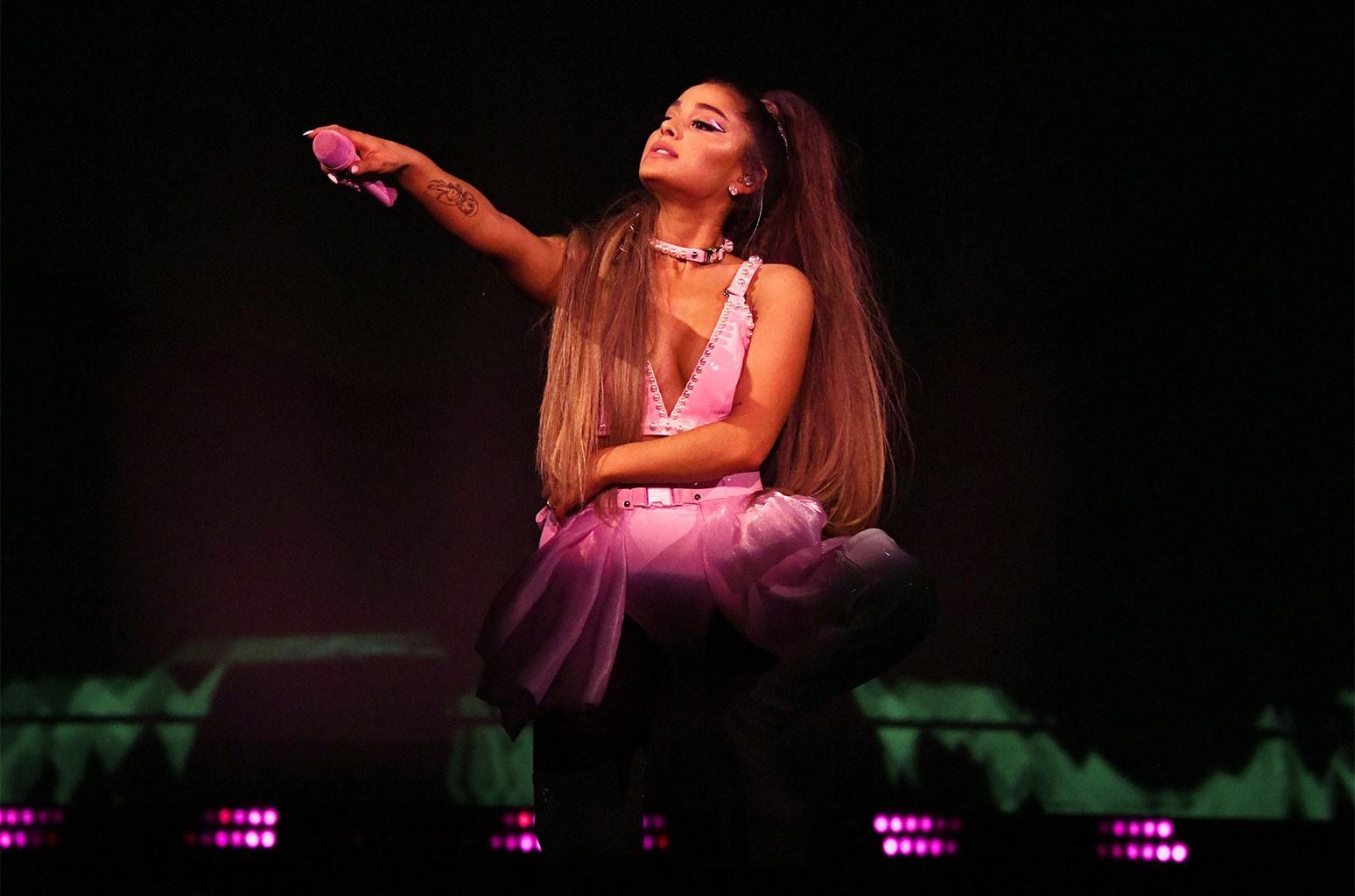 Sweetener World Tour Finishes As Ariana Grande S Biggest Yet Billboard Billboard