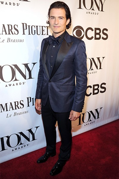 Orlando Bloom attends the 68th Annual Tony Awards