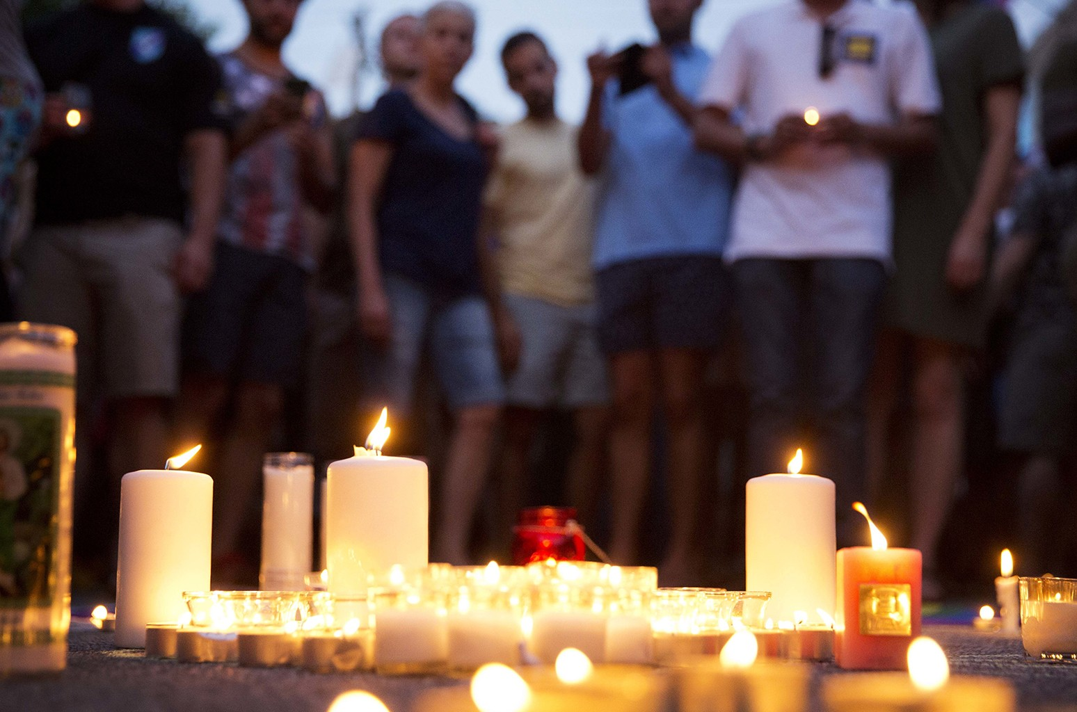 Candelight Vigil in honor of Orlando