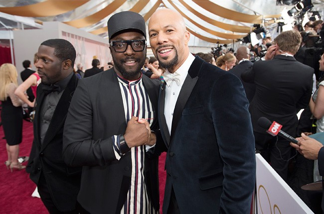Will.i.am and Common 2015 Oscars