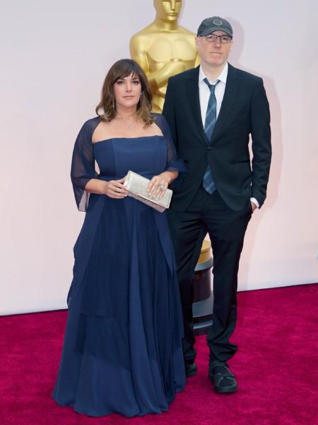 Danielle Brisebois and Gregg Alexander 2015 Oscars