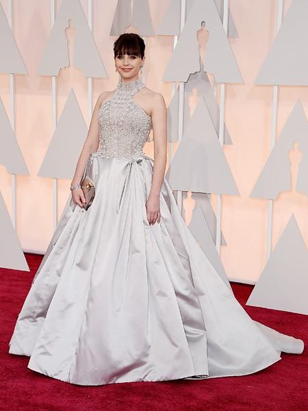 Felicity Jones Oscars 2015