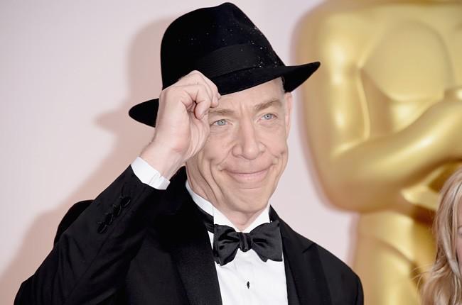 J.K. Simmons 2015 Oscars