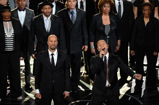 Common and John Legend 2015 Oscars