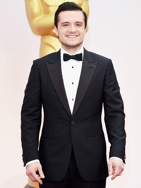 Josh Hutcherson 2015 Oscars