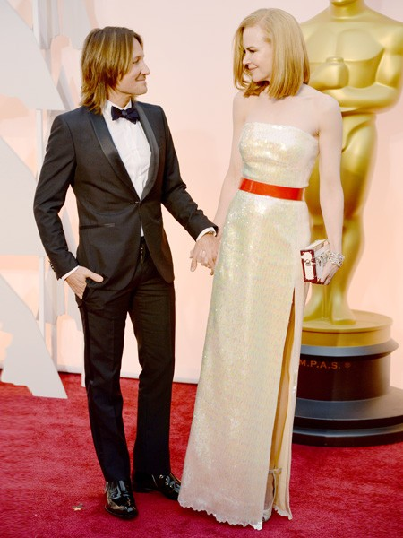 Ketih Urban and Nicole Kidman Oscars 2015