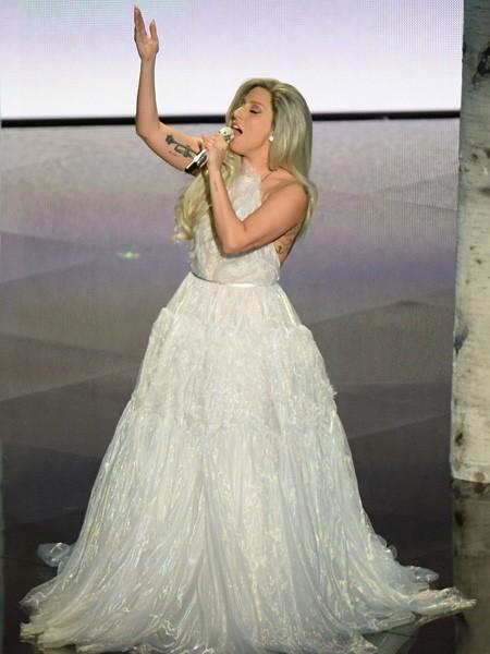 Lady Gaga Oscars 2015 Performance