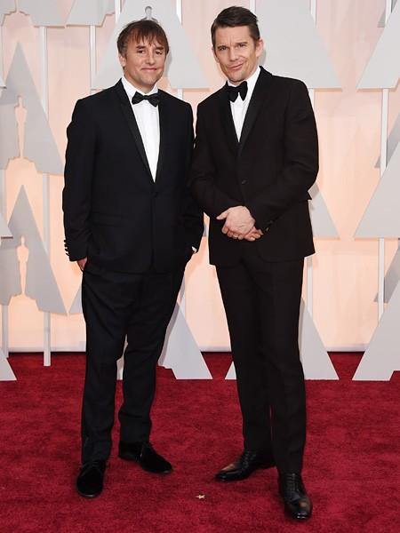 Richard Linklater and Ethan Hawke Oscars 2015