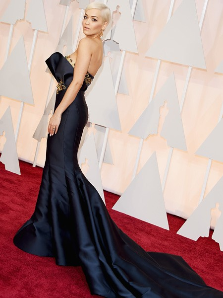 Rita Ora 2015 Oscars