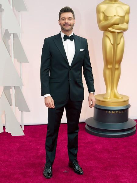 Ryan Seacrest 2015 Oscars