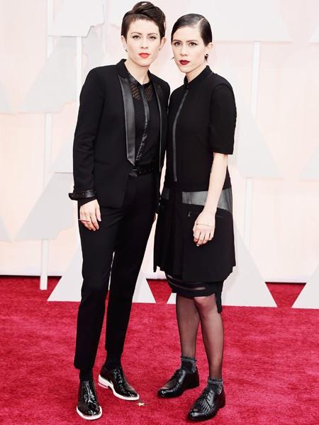 Tegan and Sara 2015 Oscars