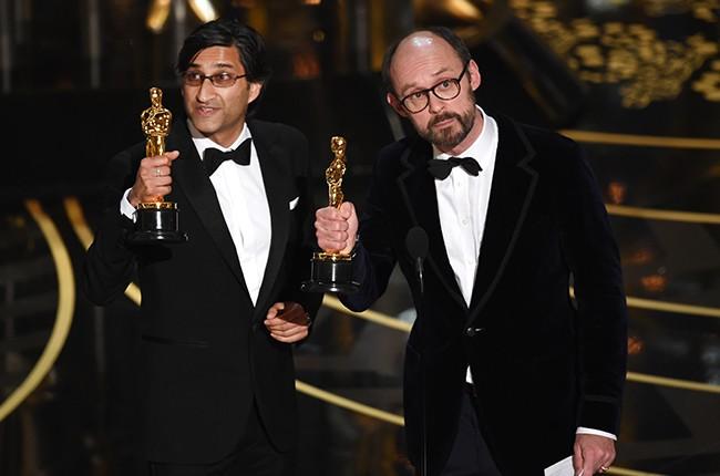 Filmmakers Asif Kapadia and James Gay-Rees amy