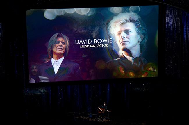 David Bowie tribute oscars 2016