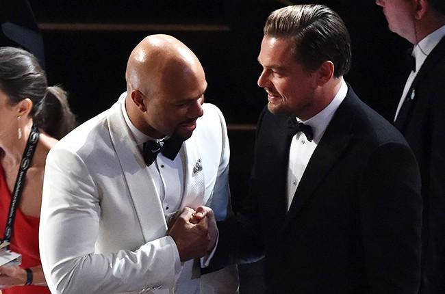 Common Leonardo DiCaprio 2016 oscars