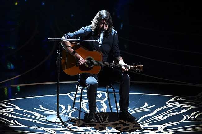 Dave Grohl oscars 2016