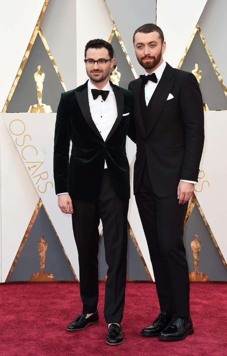 Jimmy Napes Same Smith Oscars 2016