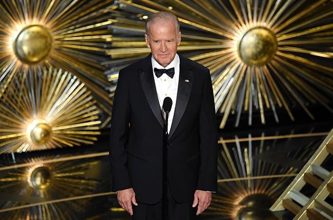 Joe Biden Oscars 2016