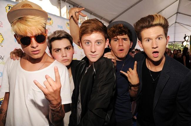 Our2ndLife attend FOX's 2014 Teen Choice Awards