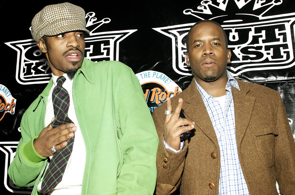 Outkast at The 46th Annual Grammy Awards in Beverly Hills, Calif.
