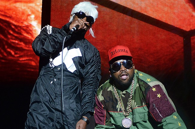 Andre 3000 and Big Boi of Outkast perform at 2014 Counterpoint Festival