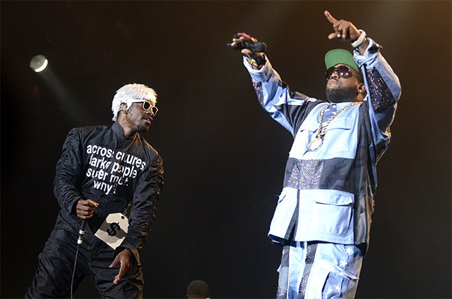 Outkast at Lollapalooza 2014