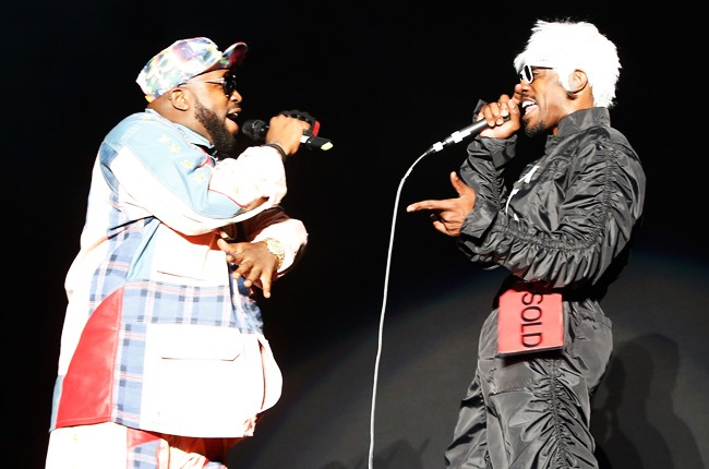 Big Boi and Andre 300 of Outkast at Governors Ball