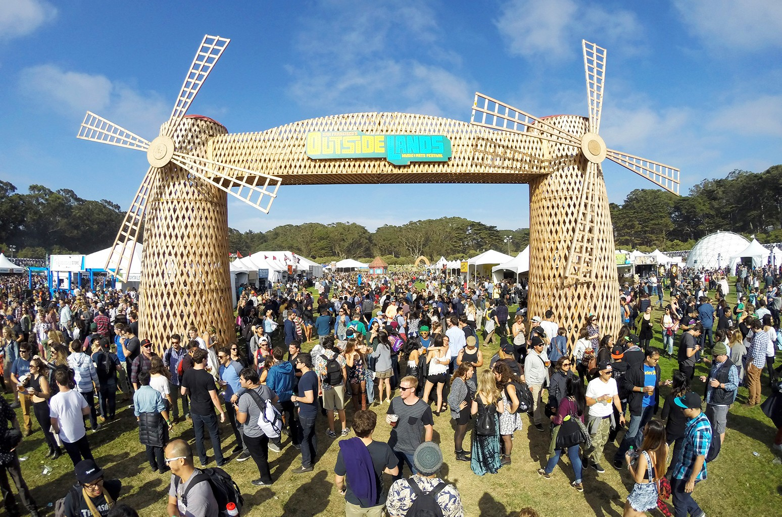 A general view of the atmosphere during day 1 of the 2014 Outside Lands Music and Arts Festival at Golden Gate Park on Aug. 8, 2014 in San Francisco.