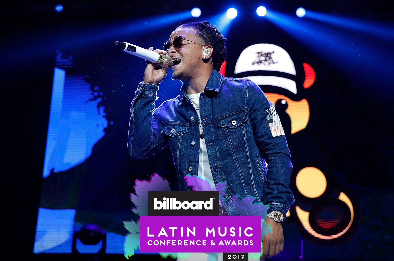 Ozuna performs during Mega 96.3's Calibash 2017 at Staples Center on Jan. 21, 2017 in Los Angeles.