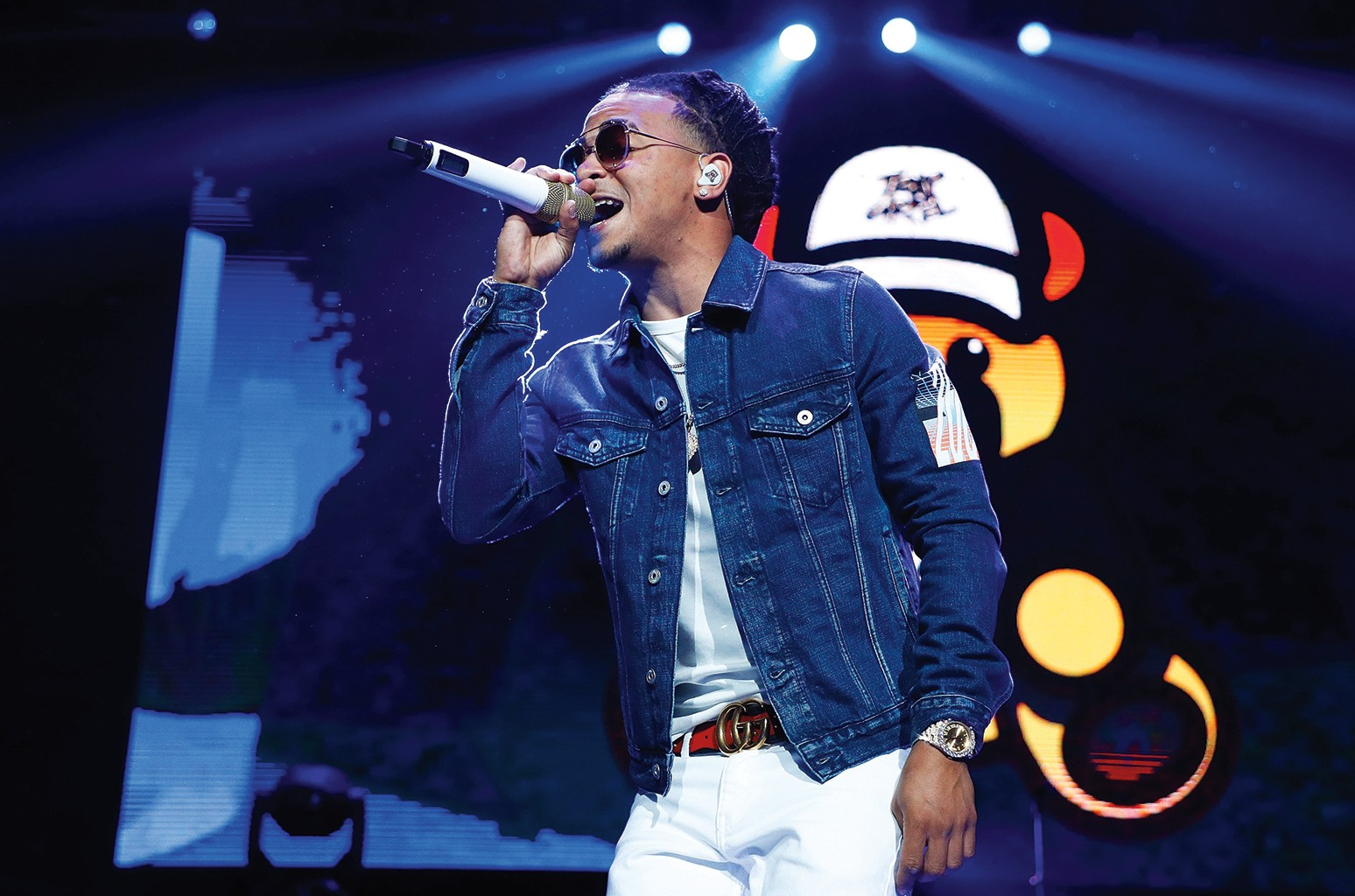Ozuna performs during Mega 96.3's Calibash 2017 at Staples Center on January 21, 2017 in Los Angeles.