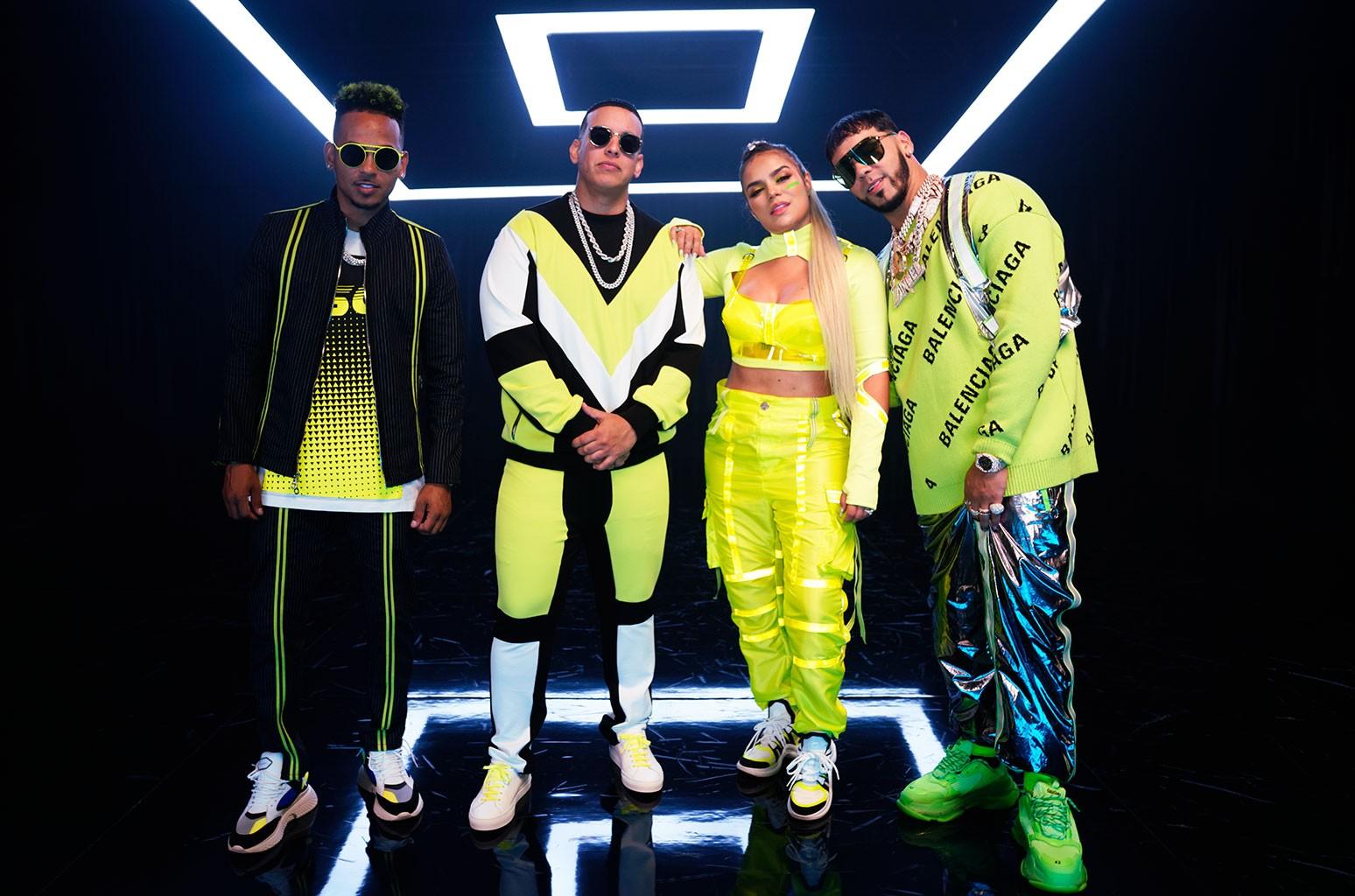 Ozuna, Daddy Yankee, Karol G and Anuel AA