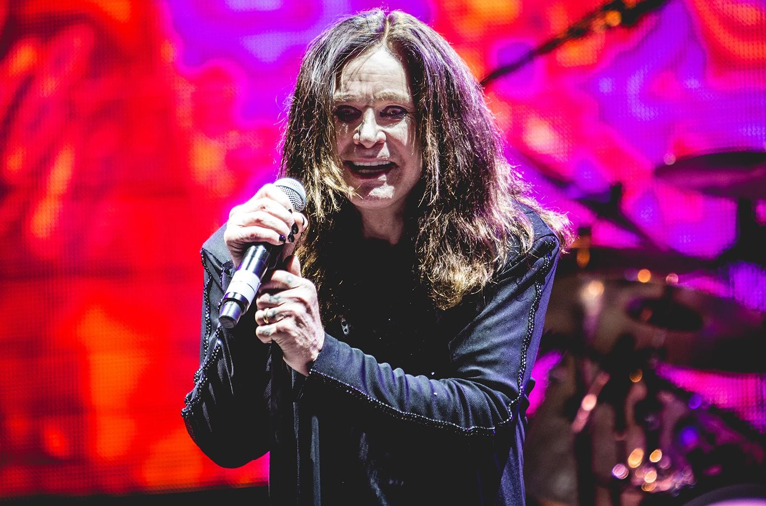Ozzy Osbourne performs in Verona Italy