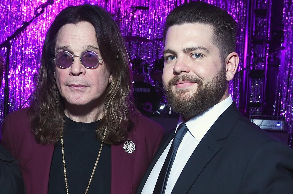 Ozzy Osbourne and Jack Osbourne in Los Angeles