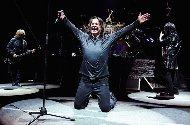 Black Sabbath perform at Barclays Center