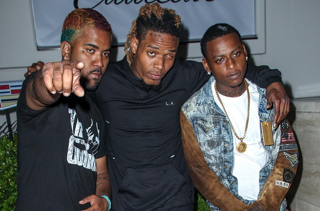 P-Dice, Fetty Wap and Monty of The Remy Boyz