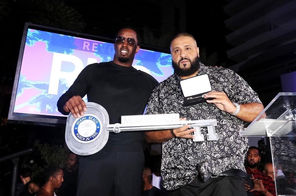 Sean 'Diddy' Combs & DJ Khaled