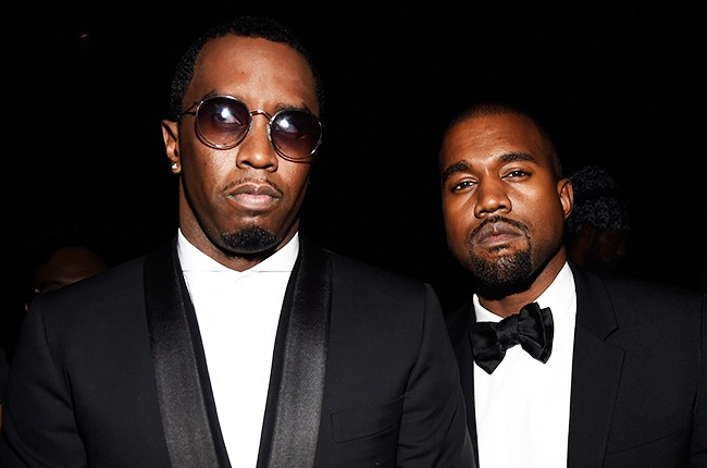 Sean Combs and Kanye West attend Keep A Child Alive's 2014 Black Ball