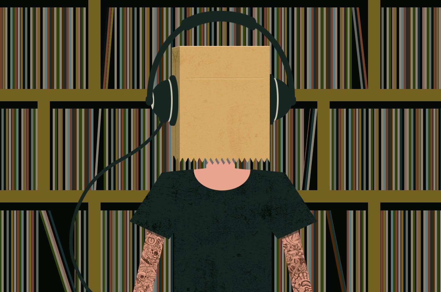 Paper Bag Headphones