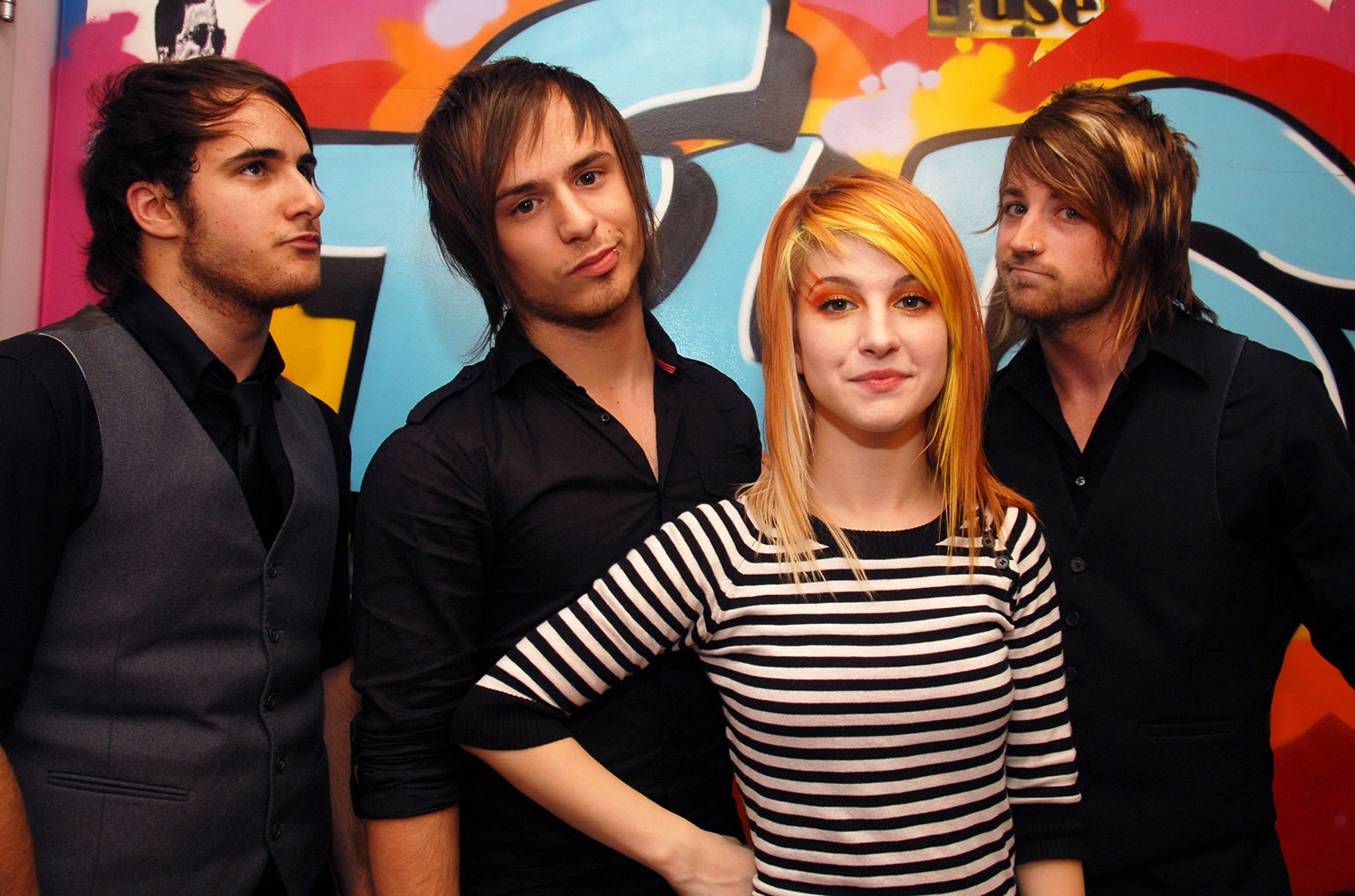 Paramore photographed in 2007
