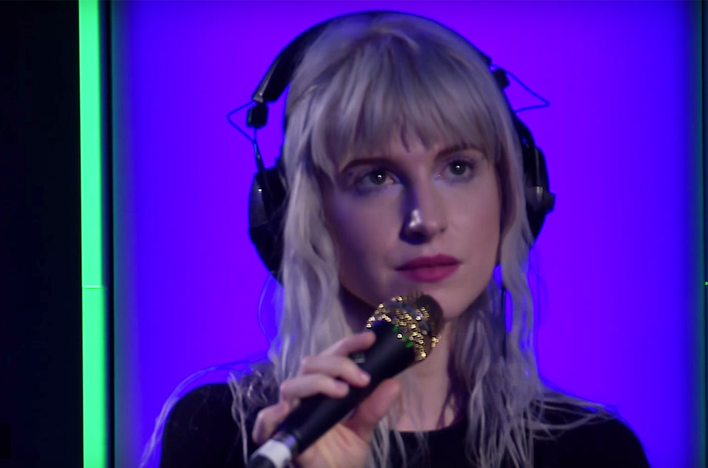 Paramore perform in the Live Lounge for BBC Radio 1
