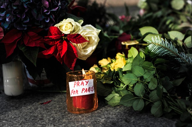 paris attcks, mourners