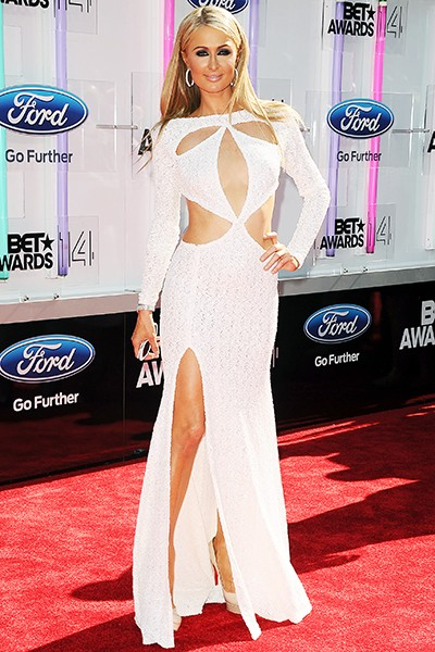 2014 BET Awards Red Carpet: Paris Hilton
