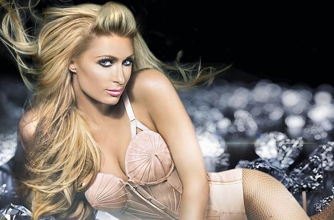 "Paris Hilton's ""Come Alive"" Album Cover"