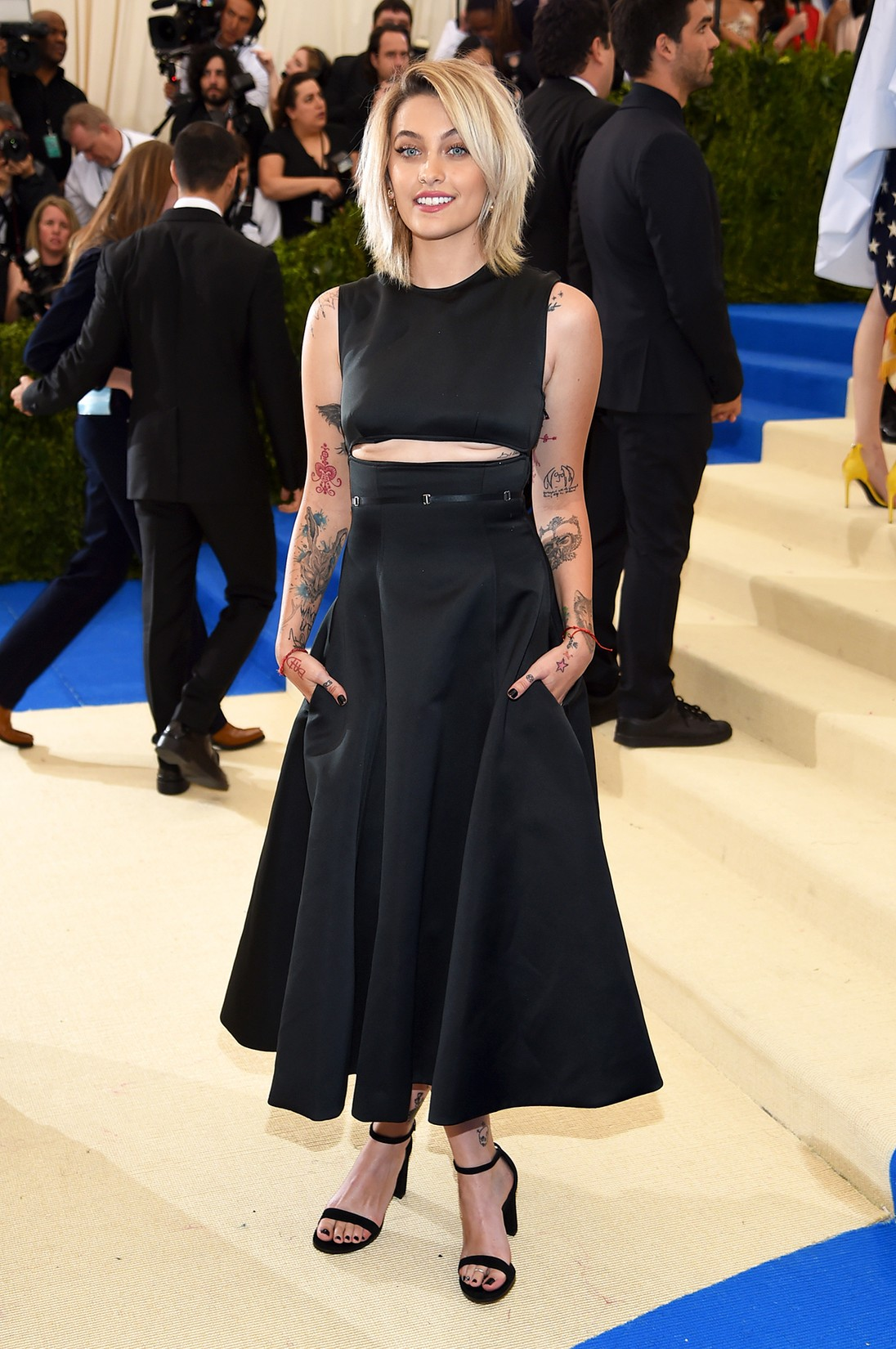 "Paris Jackson attends the ""Rei Kawakubo/Comme des Garcons: Art Of The In-Between"" Costume Institute Gala at Metropolitan Museum of Art on May 1, 2017 in New York City."