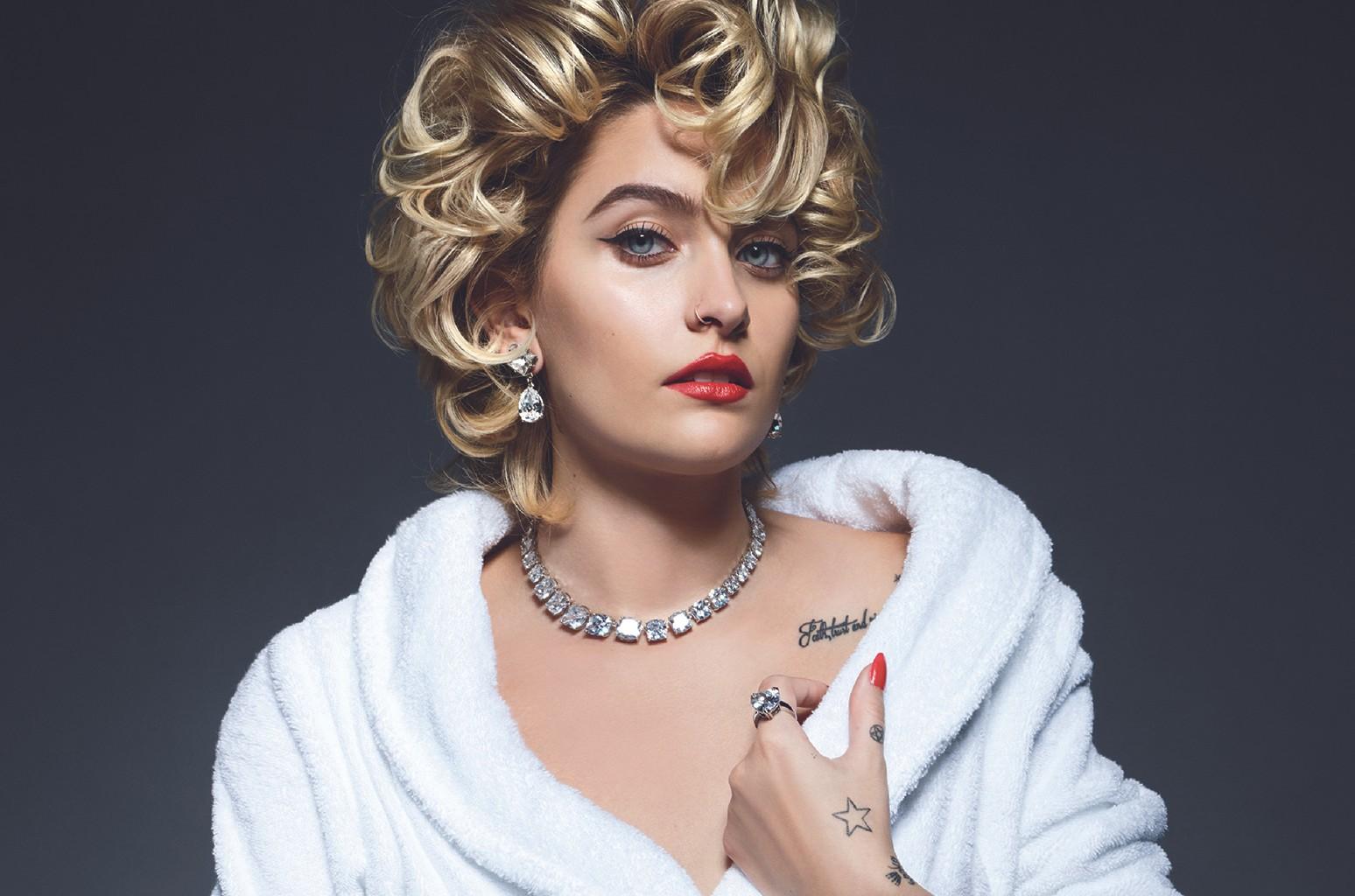 "Paris Jackson, Vanity Fair's ""It Girl"" for May 2017."