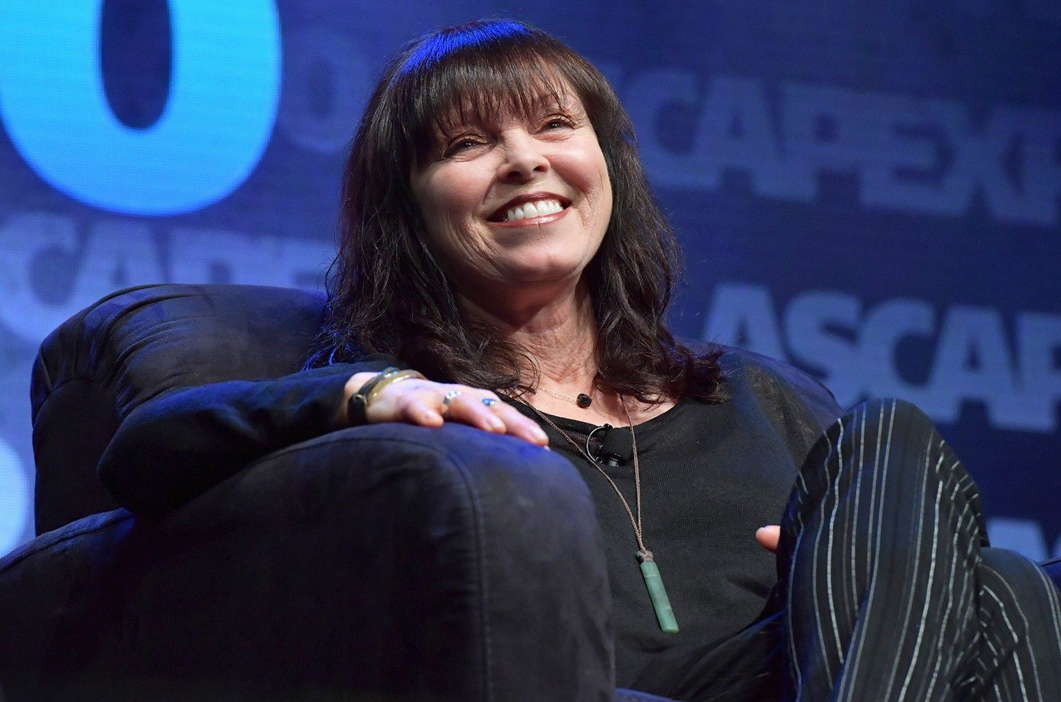 """Pat Benatar speaks during the 2016 ASCAP """"I Create Music"""" Expo on April 30, 2016 in Los Angeles."""