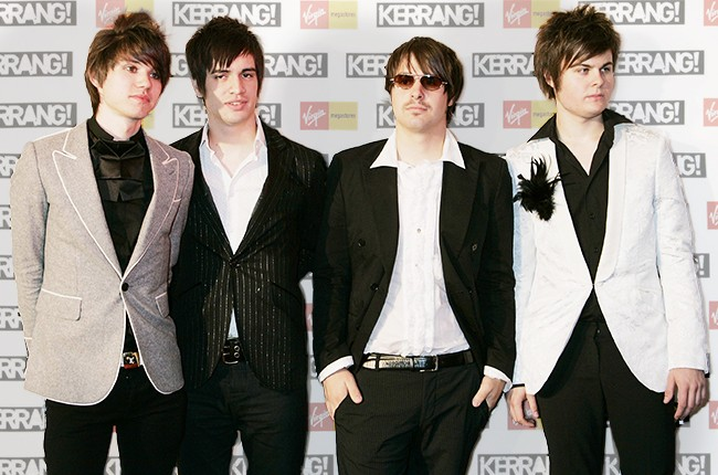Ryan Ross, Brendon Urie, Jon Walker, Spencer Smith of Panic! at the Disco in 2006.