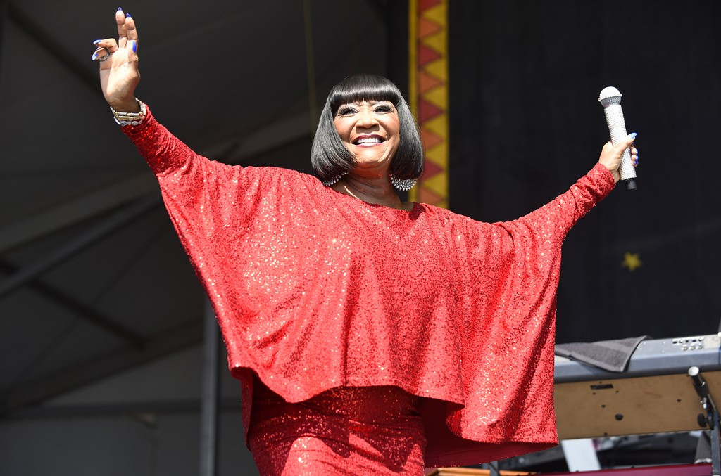 Patti LaBelle performs during the 2017 New Orleans Jazz & Heritage Festival at Fair Grounds Race Course on May 7, 2017 in New Orleans.