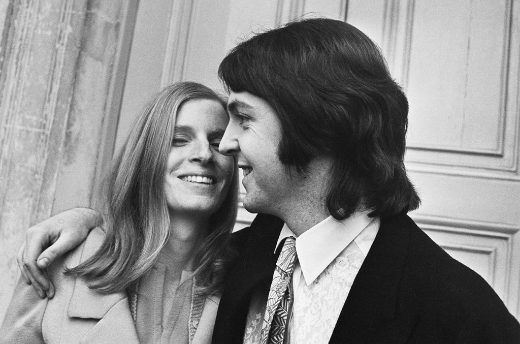 Paul McCartney Linda McCartney